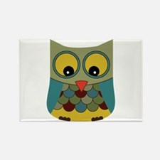 Colorful Owl Magnets