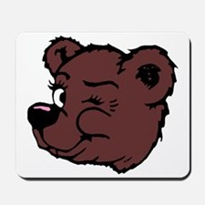 Bear Winking Mousepad