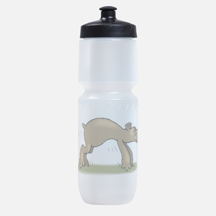 Bear Tiptoeing Sports Bottle