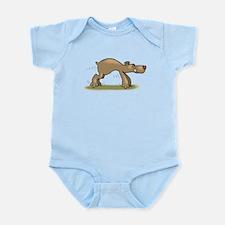 Bear Tiptoeing Body Suit
