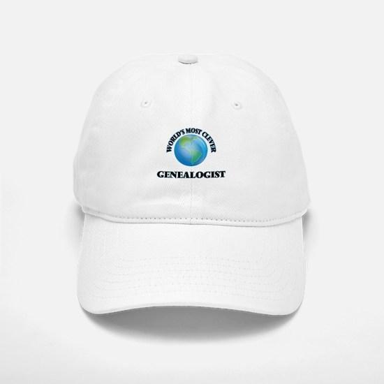 World's Most Clever Genealogist Baseball Baseball Cap