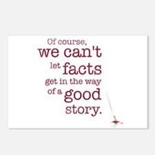We can't let facts Postcards (Package of 8)