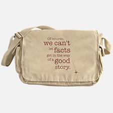 We can't let facts Messenger Bag