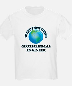 World's Most Clever Geotechnical Engineer T-Shirt