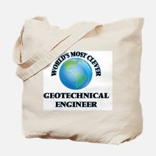 World's Most Clever Geotechnical Engineer Tote Bag
