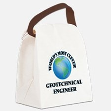 World's Most Clever Geotechnical Canvas Lunch Bag