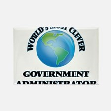 World's Most Clever Government Administrat Magnets