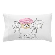Cavities Pillow Case