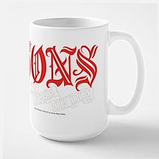 Sons Live Free or Die Large Mug