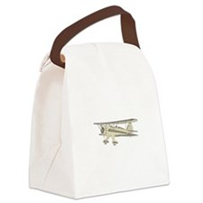 Waco Biplane Canvas Lunch Bag