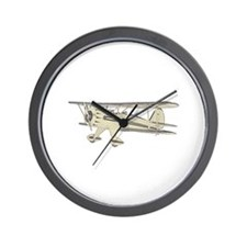Waco Biplane Wall Clock