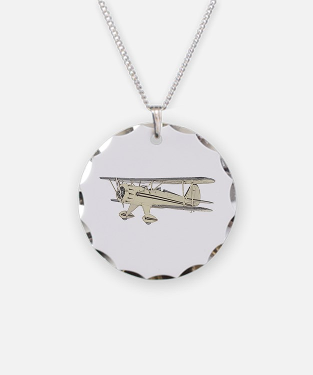 Waco Biplane Necklace