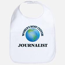 World's Most Clever Journalist Bib
