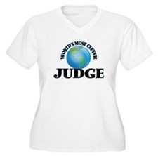 World's Most Clever Judge Plus Size T-Shirt