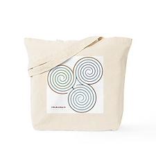 Three Realms Labyrinth Tote Bag