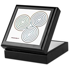 Three Realms Labyrinth Keepsake Box