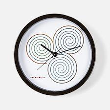 Three Realms Labyrinth Wall Clock