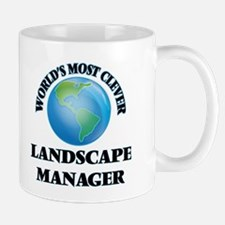 World's Most Clever Landscape Manager Mugs