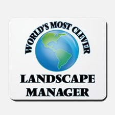 World's Most Clever Landscape Manager Mousepad