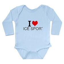 I Love Ice Sports Body Suit