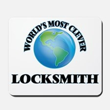 World's Most Clever Locksmith Mousepad