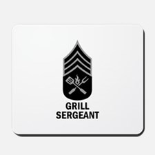 GRILL SERGEANT 2 Mousepad