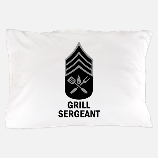 GRILL SERGEANT 2 Pillow Case