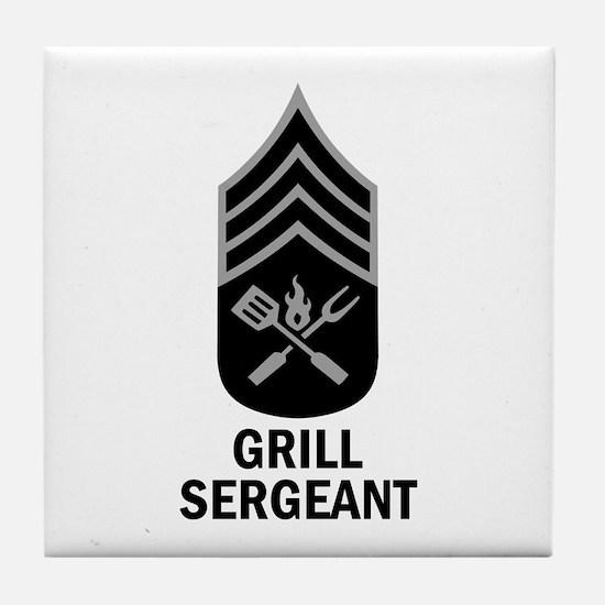 GRILL SERGEANT 2 Tile Coaster