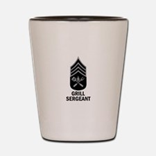 GRILL SERGEANT 2 Shot Glass