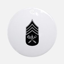 GRILL SERGEANT Ornament (Round)
