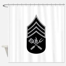 GRILL SERGEANT Shower Curtain