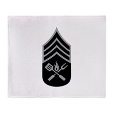 GRILL SERGEANT Throw Blanket