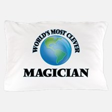 World's Most Clever Magician Pillow Case