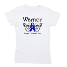 Anal Cancer Warrior Girl's Tee
