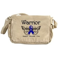 Anal Cancer Warrior Messenger Bag