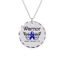 Anal Cancer Warrior Necklace