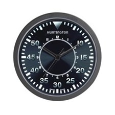 Huntington Pilot Wall Clock