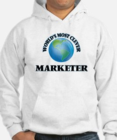 World's Most Clever Marketer Hoodie