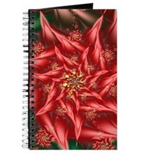 Fractal Poinsetta Blanket Journal