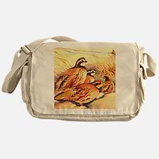Bobwhite Quail Messenger Bag