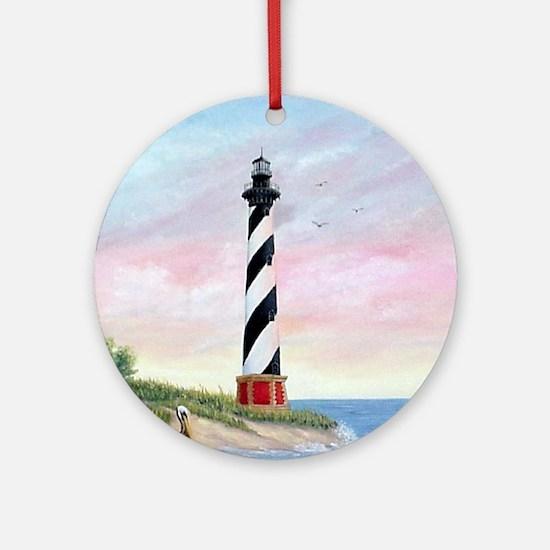 Hatteras Sunrise Ornament (Round)