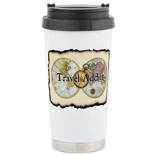 Funny Travel addict Travel Mug