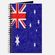 Vintage ink Australian Flag. Journal