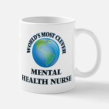World's Most Clever Mental Health Nurse Mugs