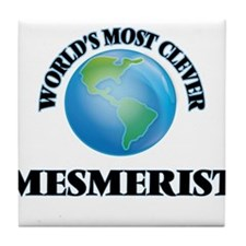 World's Most Clever Mesmerist Tile Coaster