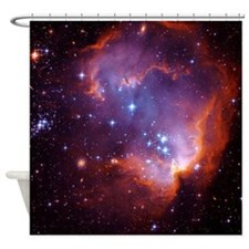 Small Magellanic Cloud Shower Curtain