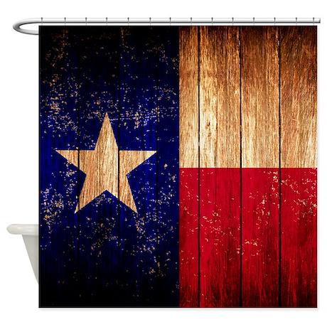 Texas Flag Shower Curtain By Admin Cp2452714