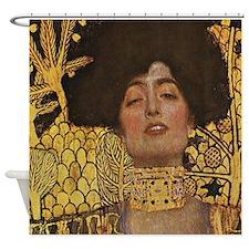 Gustav Klimt Judith Shower Curtain
