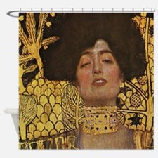 Gustav Klimt Judith Shower Curtain