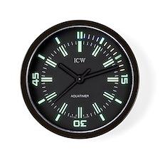 Icw Aquatimer Wall Clock